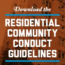 Download the Residential Community Conduct Guidelines