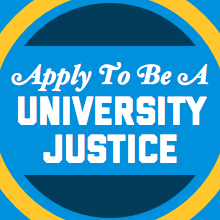 Apply to be a University Justice